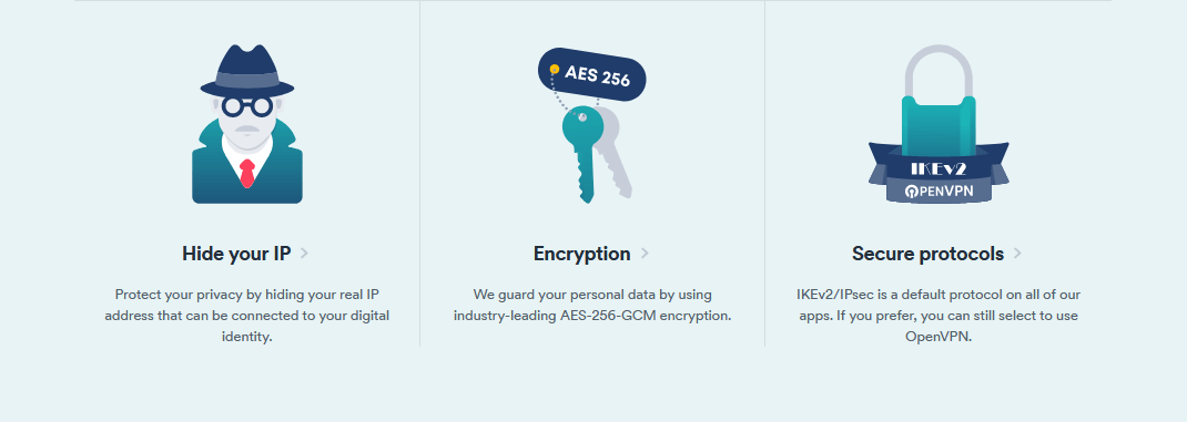 Surfshark encrypted connection